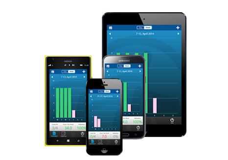 Mobile timesheet entry via smartphone and tablet