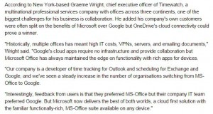 Timewatch CEO Graeme Wright quoted in the Sydney Morning Herald on September 22, 2015.